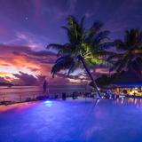 Le Domaine De L'Orangeraie Hotel, La Digue, Seychelles Photographic Print by Jon Arnold