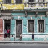 Streets of Centro Habana, Havana, Cuba Photographic Print by Jon Arnold