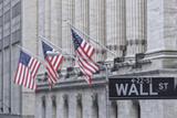 Usa, New York, New York City, Lower Manhattan, Wall Street Fotodruck von Michele Falzone
