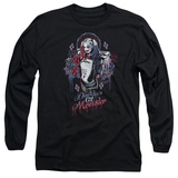 Long Sleeve: Suicide Squad- Harley Quinn Lil Monster Shirts