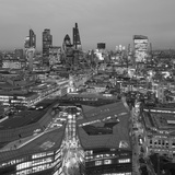 City of London Skyline, London, England Photographic Print by Jon Arnold