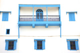 Colonial Facade, Rabat, Morocco, North Africa Photographic Print by Neil Farrin