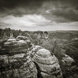 Bastei, Saxon Switzerland National Park, Saxony, Germany Photographic Print by Jon Arnold