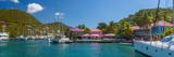 Caribbean, British Virgin Islands, Tortola, Sopers Hole Fotografie-Druck von Alan Copson