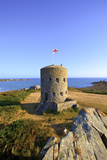 Martello Tower No 5, L'Ancresse Bay, Guernsey, Channel Islands Photographic Print by Neil Farrin