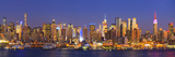 Usa, New York, New York City, Manhattan Skyline from New Jersey Photographic Print by Michele Falzone