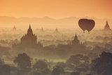 Myanmar (Burma), Temples of Bagan (Unesco World Heritage Site) Photographic Print by Michele Falzone