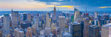 Usa, New York, Midtown and Lower Manhattan, Empire State Building Photographic Print by Alan Copson