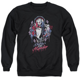Crewneck Sweatshirt: Suicide Squad- Harley Quinn Lil Monster T-shirts