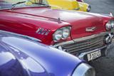 1958 Chevrolet Impala, Parque Central, Havana, Cuba Photographic Print by Jon Arnold
