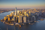 One World Trade Center and Lower Manhattan, New York City, New York, USA Photographic Print by Jon Arnold