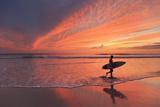 Costa Rica, Guanacaste, Nicoya Peninsula, Santa Teresa, Playa Santa Teresa Photographic Print by Michele Falzone