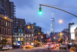 One World Trade Center from 7th Avenue, Greenwich Village, Manhattan, New York City, New York, USA Photographic Print by Jon Arnold