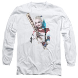 Long Sleeve: Suicide Squad- Harley Quinn At Bat Long Sleeves