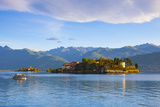 The Idyllic Isola Dei Pescatori and Isola Bella, Borromean Islands, Lake Maggiore, Piedmont, Italy Photographic Print by Doug Pearson
