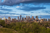 Canada, Alberta, Calgary, City Skyline Photographic Print by Christian Heeb