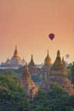Myanmar (Burma), Temples of Bagan (Unesco World Heritage Site), Ananda Temple Reproduction photographique par Michele Falzone