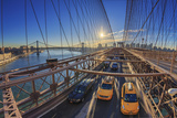 Usa, New York City, Brooklyn Bridge Photographic Print by Michele Falzone