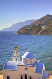 Church at Kantouni, Kalymnos, Dodecanese, Greek Islands, Greece, Europe Photographic Print by Neil Farrin