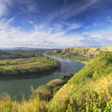 View of Sigatoka River, Sigatoka, Viti Levu, Fiji Photographic Print by Ian Trower
