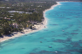 Dominican Republic, Punta Cana, View of Bavaro Beach Photographic Print by Jane Sweeney
