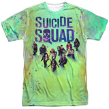Suicide Squad- Stained Poster T-Shirt