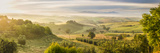 Countryside View with Farmhouse and Hills, Tuscany (Toscana), Italy Photographic Print by Peter Adams