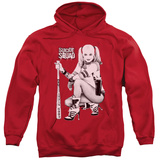 Hoodie: Suicide Squad- Harley Just Chillin Pullover Hoodie