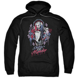 Hoodie: Suicide Squad- Harley Quinn Lil Monster Pullover Hoodie