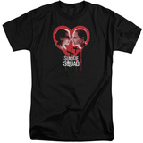 Suicide Squad- Bleeding Heart Games (Big & Tall) T-shirts