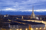 Turin, Piemonte, Italy. Cityscape from Monte Dei Cappuccini Photographic Print by Francesco Riccardo Iacomino