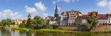 Old Town Ulm and the River Danube, Ulm, Baden-Wurttemberg, Germany Photographic Print by Doug Pearson