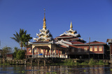 Myanmar (Burma), Shan State, Inle Lake, Nampan Village Photographic Print by Michele Falzone