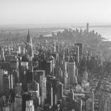 Midtown Manhattan and Lower Manhattan Behind, New York City, New York, USA Photographic Print by Jon Arnold