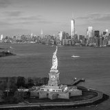 Statue of Liberty and Lower Manhattan, New York City, New York, USA Photographic Print by Jon Arnold