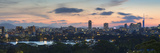 View of Skyline of Coastal Area of Fukuoka at Sunset, Kyushu, Japan Photographic Print by Ian Trower