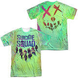 Suicide Squad- Stained Poster (Front/Back) T-Shirt