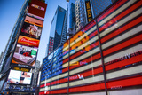 Times Square, Manhattan, New York City, New York, USA Fotoprint av Jon Arnold
