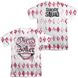 Suicide Squad- Property Of Joker Argyle (Front/Back) Sublimated