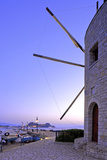 Windmill at Anemomilos Beach, Corfu Town, Corfu, the Ionian Islands, Greek Islands, Greece, Europe Photographic Print by Neil Farrin
