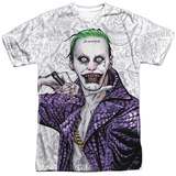 Suicide Squad- Joker Close Shave Etches Sublimated