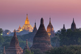 Myanmar (Burma), Temples of Bagan (Unesco World Heritage Site), Ananda Temple Photographic Print by Michele Falzone