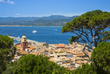 St. Tropez, Var, Provence-Alpes-Cote D'Azur, French Riviera, France Photographic Print by Jon Arnold