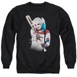 Crewneck Sweatshirt: Suicide Squad- Harley Quinn At Bat T-Shirt