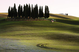 San Quirico D'Orcia, Orcia Valley, Tuscany, Italy Photographic Print by  ClickAlps