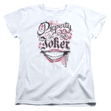 Womens: Suicide Squad- Property Of Joker T-Shirt