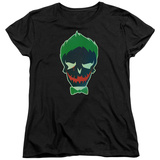 Womans: Suicide Squad- Joker Skull T-Shirt
