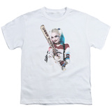 Youth: Suicide Squad- Harley Quinn At Bat T-Shirt