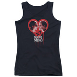 Juniors Tank Top: Suicide Squad- Bleeding Heart Games T-shirts