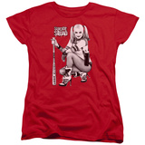 Womans: Suicide Squad- Harley Just Chillin T-shirts